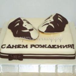 торт для мужа - Маска театр