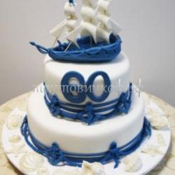 Торт для мужа - Морячок