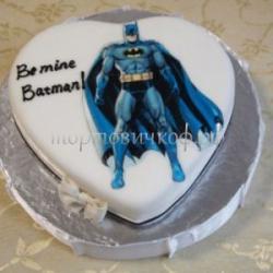 Торт для мужа - Бэтмен