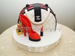 Торт для жены - Модница