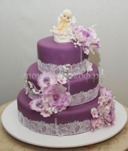 Торт для мамы - Фиолет