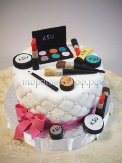 Торт для жены - Макияж