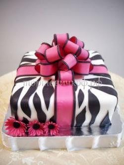 Торт для жены - Бант