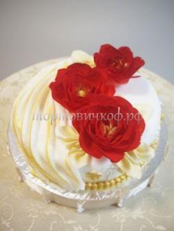 Торт для жены - Алый восход