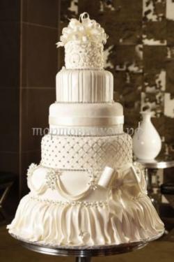 Торт свадебный на заказ - № 014