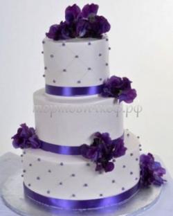 Торт свадебный на заказ - № 007