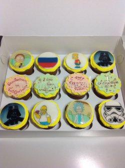 Капкейки и мини пирожные #21