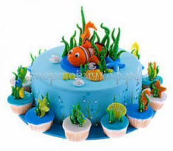 Заказать торт на день рождения - Море