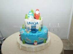 Новогодний торт - Синева
