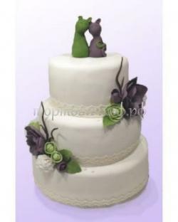 Торт свадебный на заказ - Мур мур