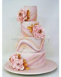 Торт свадебный на заказ - Розе любовь