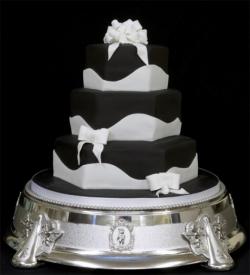 Свадебный торт на заказ в СПб - Изысканный