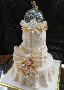 Свадебный торт на заказ СПб - Люкс