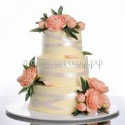 Торт свадебный на заказ - Элита