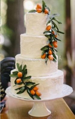 Торт свадебный на заказ - № 114
