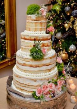 Торт свадебный на заказ - № 030