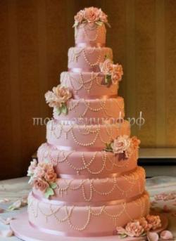 Торт свадебный на заказ - № 168