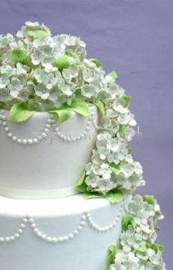 Торт свадебный на заказ - № 044