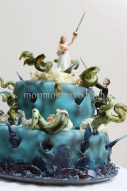 Торт свадебный на заказ - № 040