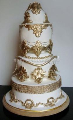 Торт свадебный на заказ - № 223