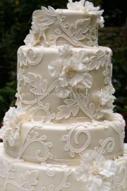 Торт свадебный на заказ - № 231