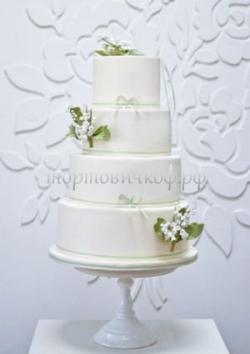Торт свадебный на заказ - № 232