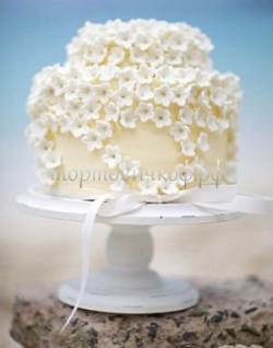 Торт свадебный на заказ - № 050