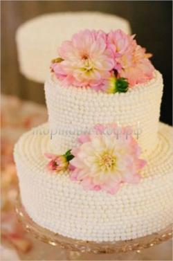 Торт свадебный на заказ - № 051