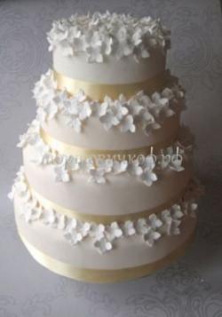 Торт свадебный на заказ - № 053