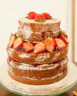 Торт свадебный на заказ - № 020