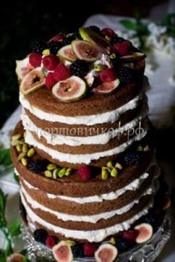 Торт свадебный на заказ - № 074