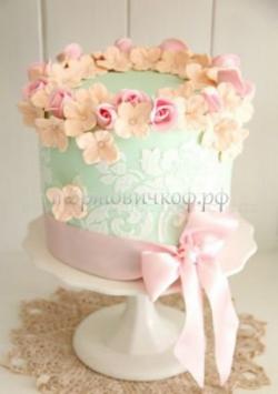 Торт свадебный на заказ - № 084