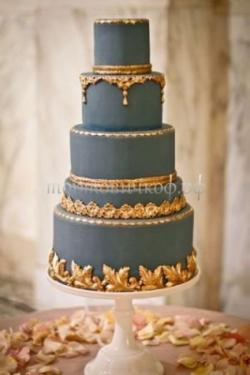 Торт свадебный на заказ - № 090