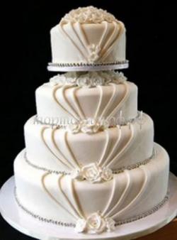 Торт свадебный на заказ - № 103