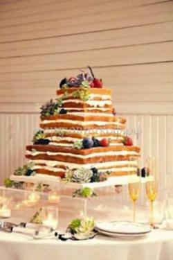Торт свадебный на заказ - № 104