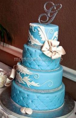 Торт свадебный на заказ - № 106