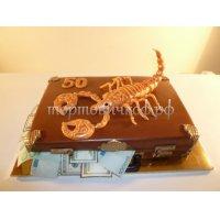 Прикольные торты на день рождения # 17