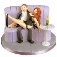 Торт на заказ эротика - Любовники