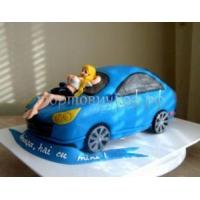 Торт на заказ эротика - Секс в машине