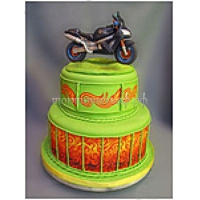 Торт для мальчика - Мотоцикл