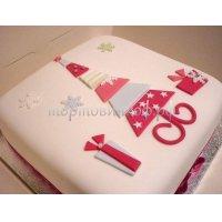 Торт на новый год #7