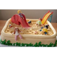 Детский торт на заказ - Песочница