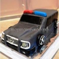Детский торт - Полицейская Машина