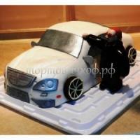 Детский торт - Машина