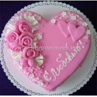 Торт для любимой - С любовью