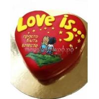 Торт на заказ - Любовь это ......