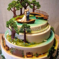 Торт на заказ - В лесу