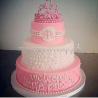"""Детский торт на заказ СПб - """"Маленькая принцесса"""""""