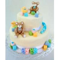 Детский торт на заказ СПб Мишкина радость