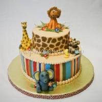 "Детский торт на заказ СПб - ""Зоопарк"""